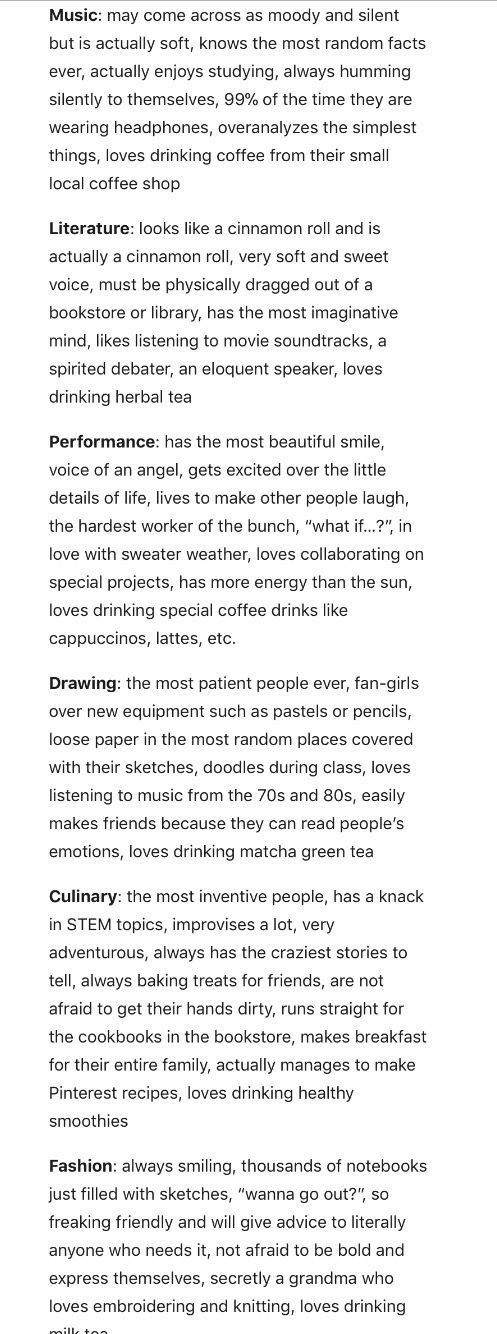 Types of People as Art